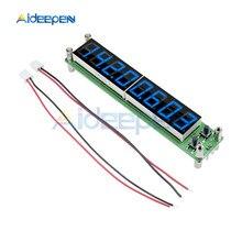 10шт/Лот 0,1 до 60 МГц 20 МГц до 2400МГц частота 2,4 ГГц сигнал РФ счетчик светодиодный дисплей цифровой тестер кабеля частотомер Измеритель