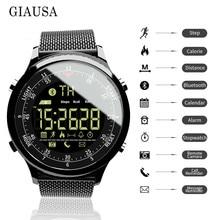 Bluetooth Smart Watch Waterproof Sport Men Digital clock Ultra-long Standby Call Reminder Smartwatch For ios  and Android reloj цены онлайн