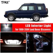 Tpke 13x canbus led luz interior kit para 1998-2004 land rover discovery mapa dome porta tronco luz da placa de licença