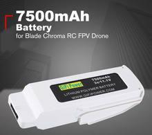 Bateria recarregável da bateria de 11.1v 7500mah lipo para o zangão de chroma rc fpv da lâmina