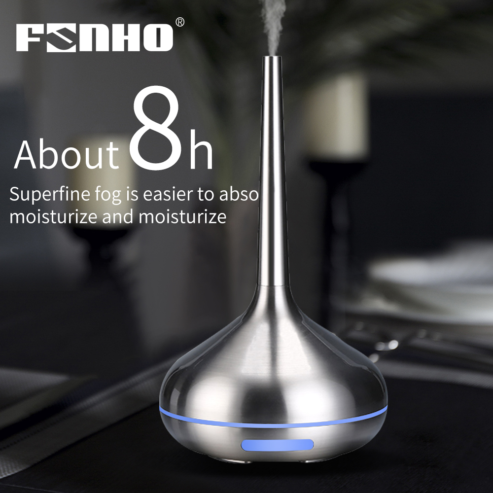 FUNHO Air Humidifier Aromatherapy Diffuser  Aroma Diffuser Machine Essential Oil Ultrasonic Mist Maker Led Light For Home Office