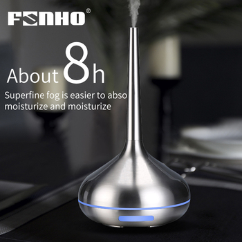 FUNHO Air Humidifier Aromatherapy diffuser  aroma diffuser Machine essential oil ultrasonic Mist Maker led light for home office funho aroma diffuser mini air humidifier oil humificador aromaterapia para casa 5 color selectable for home office car 078