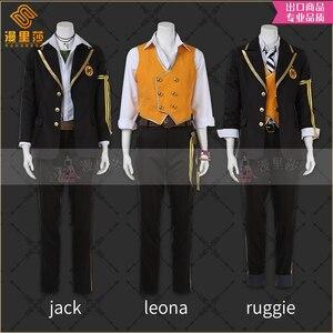 Витая Wonderland униформа для косплея, Jack Leona Ruggie Savanaclaw F