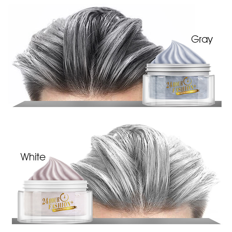 Disposable Hair Dyeing Cream For Men Styling Hair Dye Washable Hair Wax Hair Dyes For Men And Women
