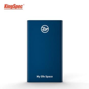 KingSpec External SSD hard drive hd externo usb 3.1 portable SSD 256B 512GB 1TB hard disk hdd Type-c for businessman
