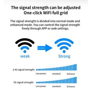 Image 2 - Gc11 ac1200 roteador wi fi sem fio com 2.4g/5.0g antena de ganho alto wifi repetidor roteador sem fio de banda dupla, controle de aplicativo