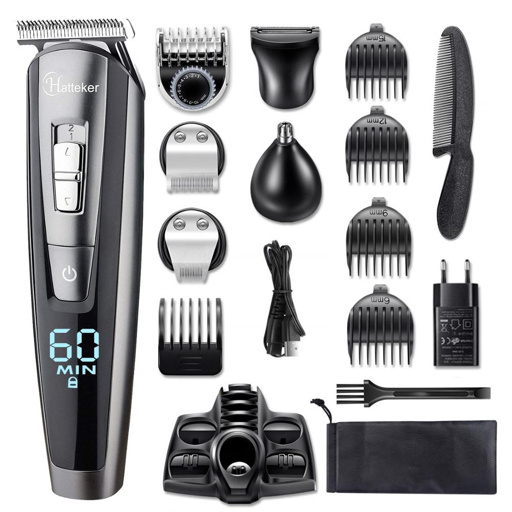 all in one wet dry hair trimmer beard grooming trimer facial body hair clipper professional hair cutting machine for men|Hair Trimmers| - AliExpress