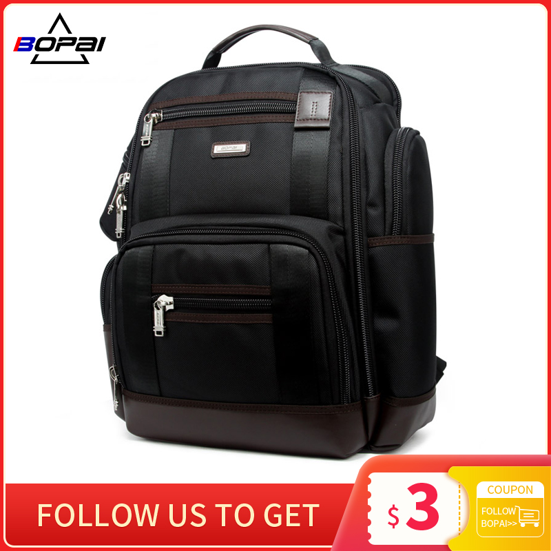 American Famous Brand Multi Pockets Men Backpack Large Capacity Weekend Travel Back Pack Business Men's Super Backpack Male Bag