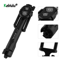 Portable Wireless Bluetooth Tripod Stand Selfie Stick Monopod For IOS Android Phones Desktop Tripod Holder Stand Selfie Stick