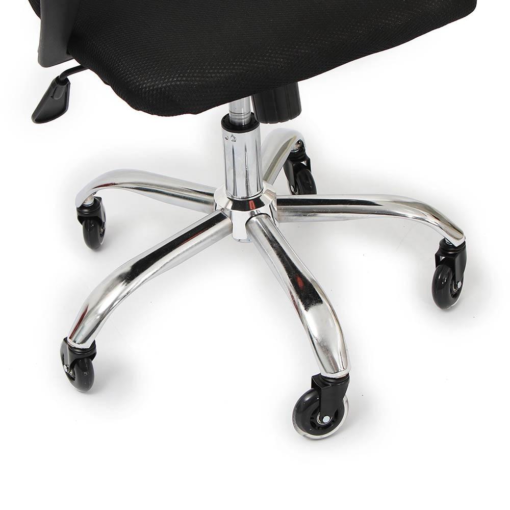 5 peças rodas rodízio cadeira de escritório 3 Polegada giratória rodízio resistente rodas substituição macio seguro rolos móveis ferragem-2