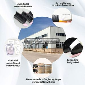 Image 2 - 4pcs All Sizes Premium 3D Volume Eyelash Extensions Lash JBCD Curl 2015 New Lash Beauty Brand