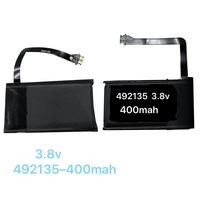 Funda de carga inalámbrica para AirPods 1 2, batería de 400mAh, A1596