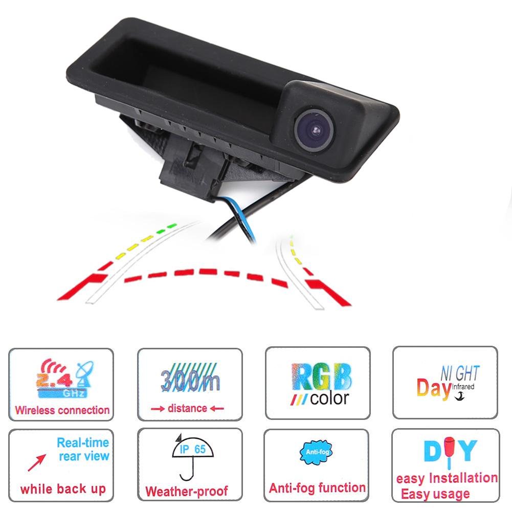 Car Rear View Camera Auto Aluminum Alloy Waterproof Reverse Cam for BMW X3 X5 X6 E39 E53 E70 E71 E82 E83