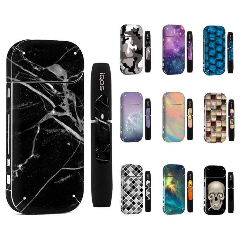 Galaxy Sticker Printing Skin For IQOS Sticker Printing Skin For IQOS Sticker 2.4 Plus 2.4p  E-Cigarette Cover Case