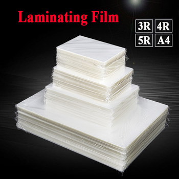 80 Mic Laminating Film PET EVA Plastic Film 100sheets  For Hot Laminator 3R 4R 5R A4 For Photo/Files/Card/Picture