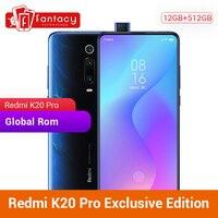 Privilege Edition Xiaomi Redmi K20 Pro 12GB 512GB Snapdragon 855 Plus Mobile Phone 6.39 Inch AMOLED 48MP Triple Cameras 4000mAh