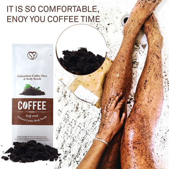 1 pack Coffee Scrub Body Scrub Cream Facial Dead Sea Salt For Exfoliating Whitening Moisturizing Anti Cellulite Treatment Acne
