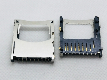 molex ALPS LCN PC Computer Laptop Panel Big SIM SD TF Card Slot Tray Holder Adapter Socket Connector PCB Board FPC Accessory image