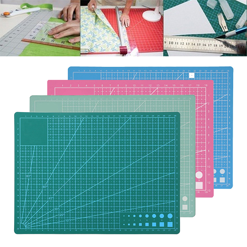 Self-Healing Cutting Pad Portable Professional Non Slip A4 A5 Printing Model Quilting Self-Healing Grid Cutting Self Healing
