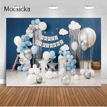 1st Birthday Cake Smash Photography Backdrop Newborn Kids Portrait Background for Photo Studio Happy Birthday Children Party