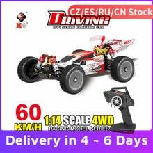 Wltoys XKS 144001 RC Car 60 km/h High Speed 1/14 2.4GHz RC 4WD Racing Off-Drift uliczny samochód RTR