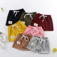 Baby Shorts Pants Summer Cotton for Boy Casual Solid Kids Girls PP Thin