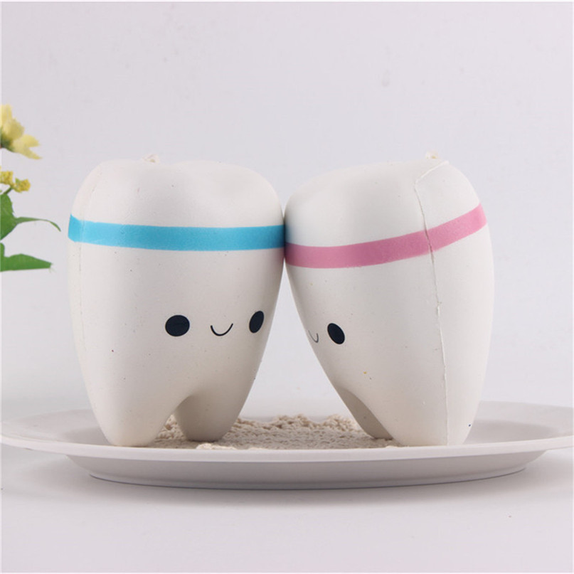 Hot Selling Squishy Model Super Meng Teeth King Pendant Soft Squishy Toys Extrusion Vent Cross Border Hot Selling 30D17