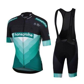 2020 camiseta de Ciclismo BORA de manga corta conjunto de camisa de...