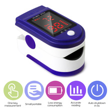 Monitor Pulse-Rate-Detector Fingertip Blood-Oximeter Led-Display