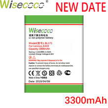 Wisecoco BL171 3300mAh New Produced Battery For Lenovo A319 A60 A500 A65 A390 A368 A390T A356 A370E A376+Tracking Number