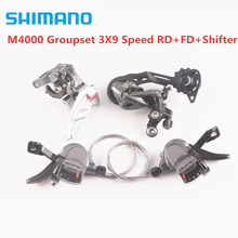SHIMANO vtt ALIVIO M4000 groupe 3x 9/27 vitesse 3 pièces/RD + FD + levier de vitesse