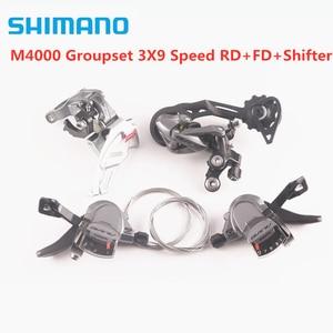 Image 1 - SHIMANO vtt ALIVIO M4000 groupe 3x 9/27 vitesse 3 pièces/RD + FD + levier de vitesse