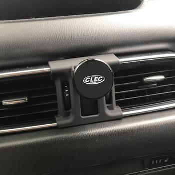 Magnetic Car Mobile Phone Holder For Mazda CX-5 2017 2018 Air Vent Mount Cell Phone Holder Clip For Mazda CX5 2017 2018 2019