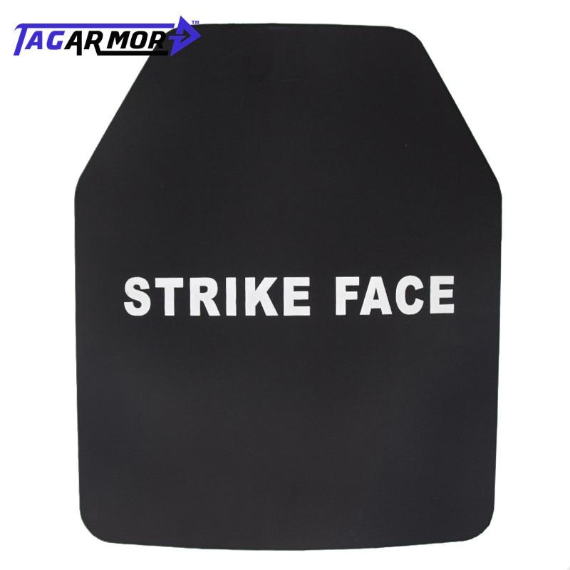 1pc USA NIJ 3A Level Military Bulletproof Steel Plate Bulletproof Vest Plate