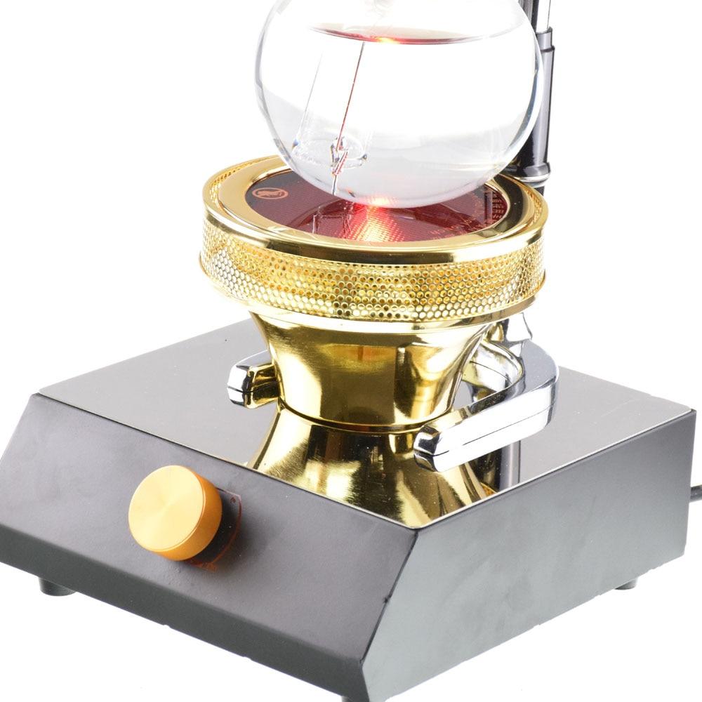 TCA кофейная плита электро оптическая галогенная лампа с подогревом 220В кофейный сифон галогенный балочный нагреватель ручная кофемашина - 3