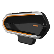 New Motorcycle Helmet Intercom Headphones Wireless Bluetooth Headset Handsfree Waterproof Fm Mp3 For Outdoor Sports