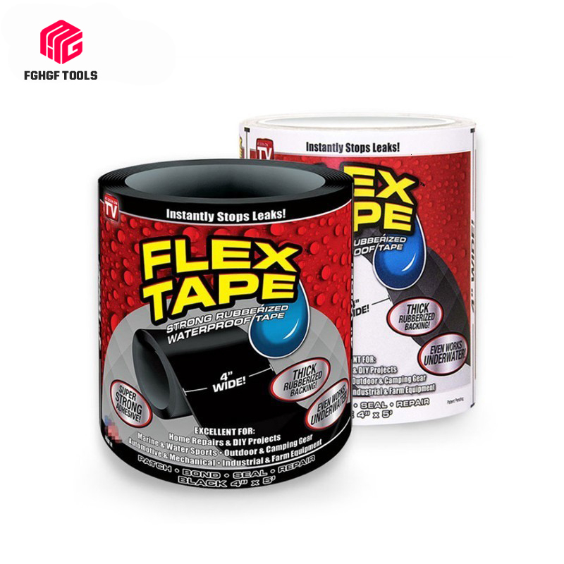 FGHGF 153cm Super Strong Flex Waterproof Repair Leakage Tape For Garden Hose Water Bonding Fast Rescue Quickly Stop Tool