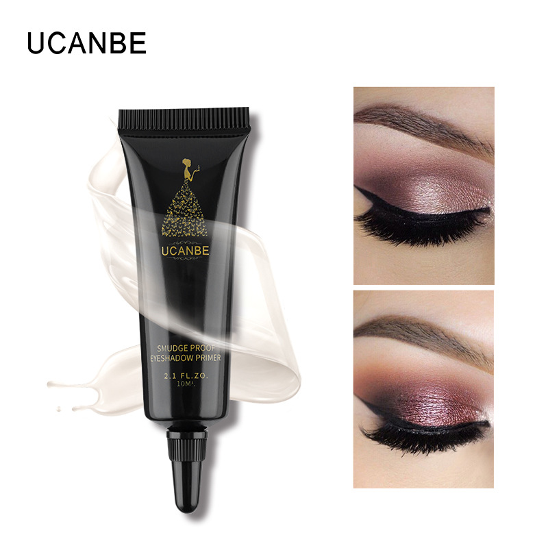 UCANBE 10ml Eye Shadow Primer Eye Makeup Base Pore Eyeshadow Primer Potion Anti-wrinkle Smudge Proof Eyelid Cream image