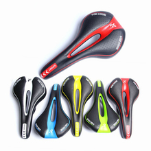 Mountain Road Seat For Bicycle Saddle For Bicycle Hollow Breathable MTB Bike saddle  Part PU Soft Seat Cushion  Cycling Accessor replacement mtb saddle bike road mountain bicycle cycling seat soft cushion pad