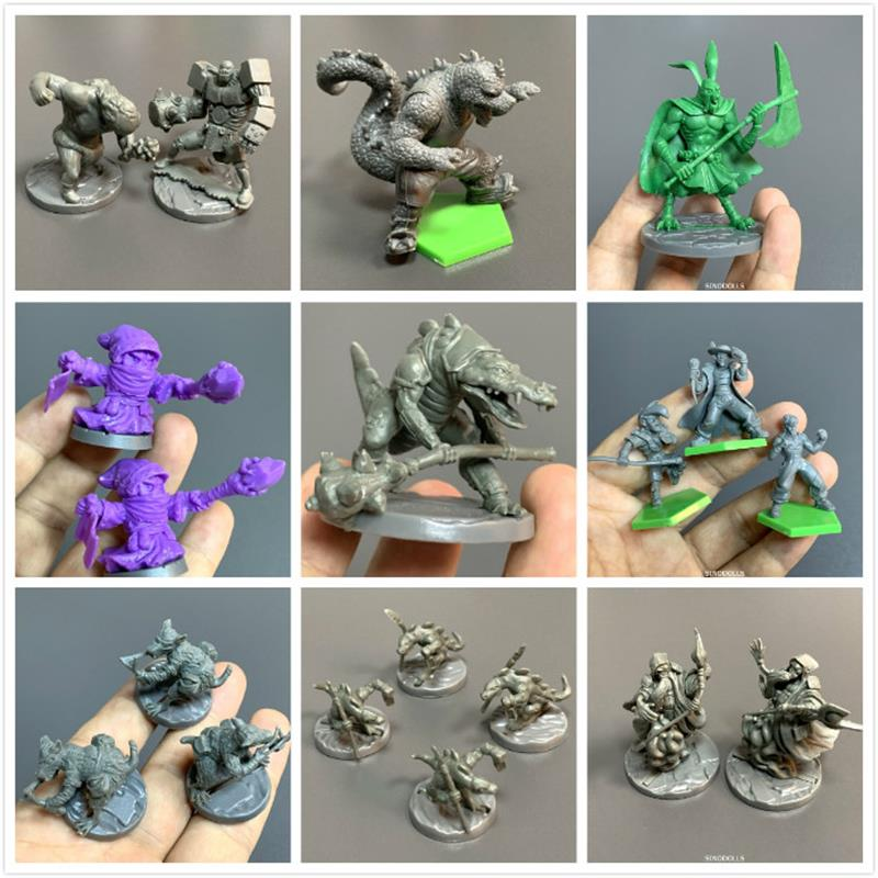 Super Dungeon Explore Series Board Game Miniatures Role Playing Figures Model Toys Collection