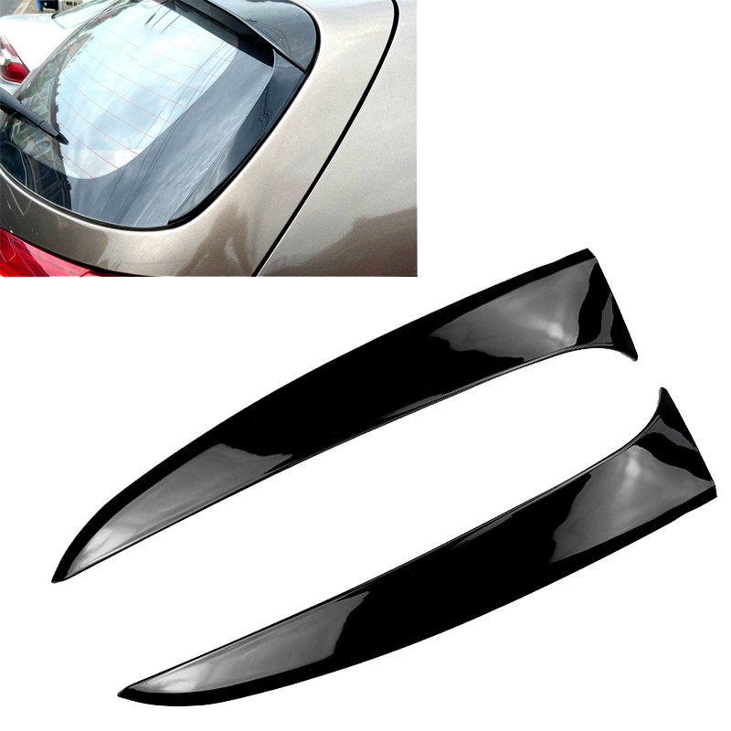 Top!-Car Rear Window Side Spoiler Cover Trim for KIA Sportage R 2011-2015