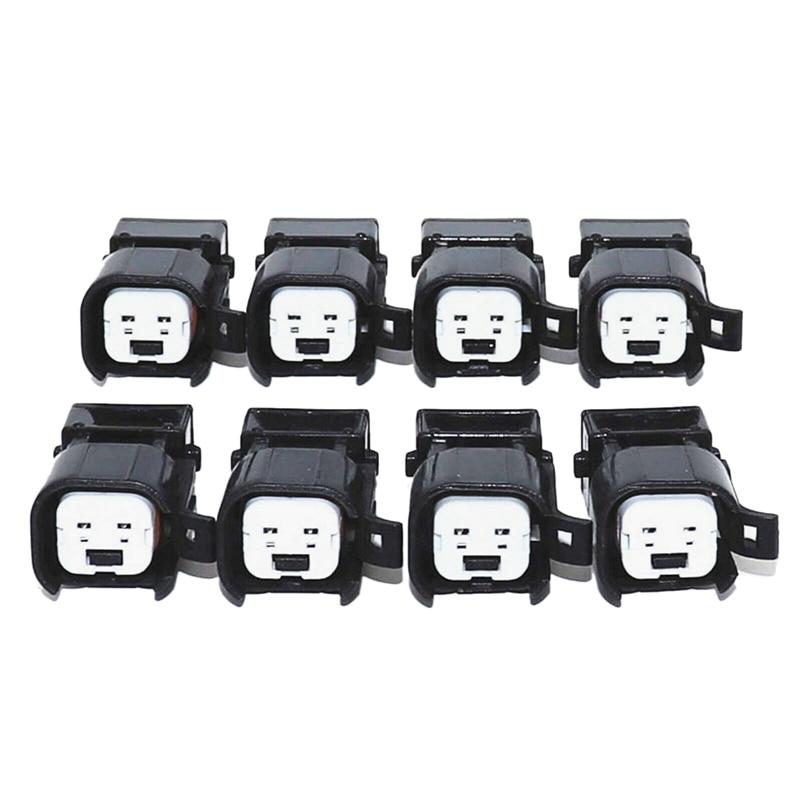 8pcs Fuel Injector Connector Adapter EV6 to EV1 USCAR LS2 LS3 LSX LS1 LT1