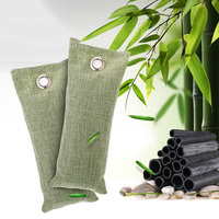 New 4PCS/set 200G + 4PCS 75G Bamboo Charcoal Bag For Home Car Purify Air Absorber Air Purifiers Tool