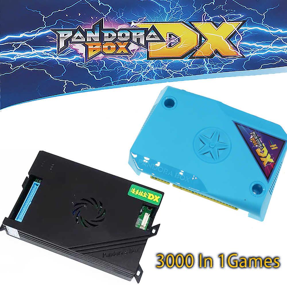 새로운 도착 원래 3A 게임 판도라 상자 DX 3000 1 클래식 상자 DIY 번들 키트 Jamm 아케이드 가족 버전 번들