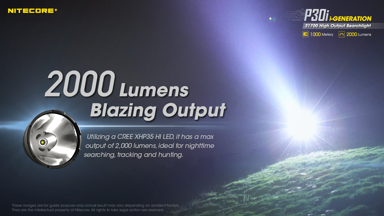 oi led 2000 lumens USB-C de carregamento