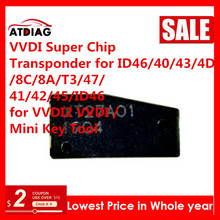10 50 pièces/lot Xhorse VVDI Super puce XT27A01 XT27A66 puce travail pour VVDI clé outil/VVDI MINI clé outil