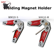 Welding Magnet Adjustable Angle(20°~200°) Welding Holder Welding Fixture Corner Clamp Strong Magnetic Welding Corner Tool