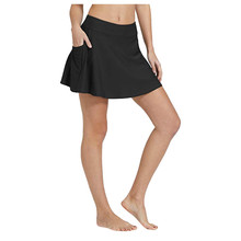 Bikini 2020 Women Bikini Bottom Tankini Swim Skirt Pocket Sh