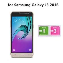 Абсолютно новое закаленное стекло для samsung Galaxy J3 не полная защитная крышка для экрана защитное закаленное стекло с салфетками