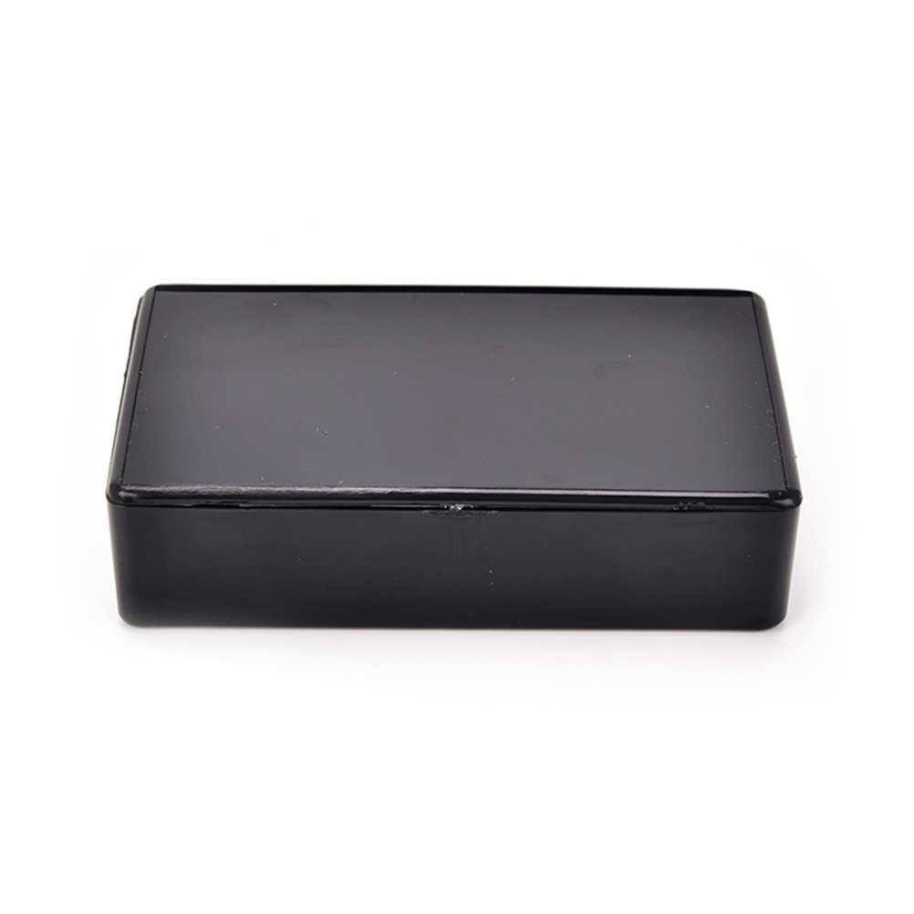 1 шт. 100x60x25 мм черный чехол для инструментов DIY пластиковый ящик для электронного проекта электрические принадлежности